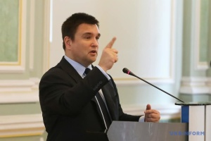 """Klimkin wyjaśnił, dlaczego rosyjska wersja uwolnienia marynarzy jest """"pułapką"""""""