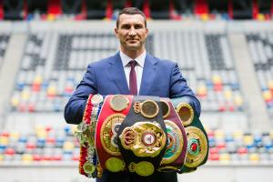 Церемония включения Владимира Кличко в Зал боксерской славы состоится летом 2022 года