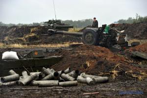 統一部隊作戦圏:4月15日のロシア占領軍の攻撃12回、ウクライナ側死傷者なし