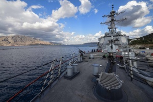 U.S. Navy destroyer Ross again heading to Black Sea