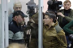 Sawtschenko und Ruban im Gerichtssaal aus der Haft entlassen