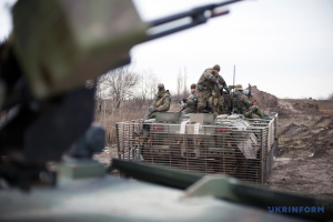 Russian-led forces launch seven attacks on Ukrainian troops in Donbas