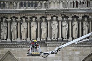 Нотр-Дам підготували до реставрації після пожежі