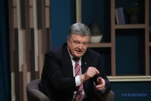 Poroshenko: Un ejército poderoso es el garante de la independencia de Ucrania