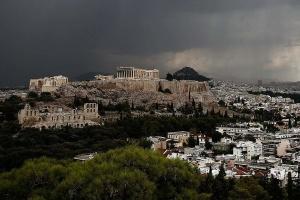 Молния попала в афинский Акрополь, есть пострадавшие
