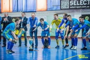 Студенти НПУ імені Драгоманова виграли Кубок Києва з футзалу