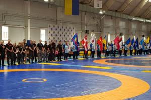 На Донбассе состоялся чемпионат Украины по вольной борьбе среди кадетов и кадеток