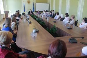 Педагоги с Луганщины приехали во Львов в рамках совместной программы двух областей