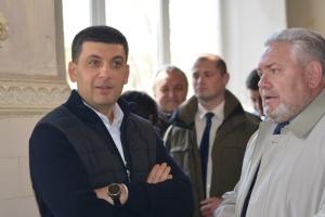 Гройсман гарантирует поддержку проекта по снабжению питьевой водой Мариуполя