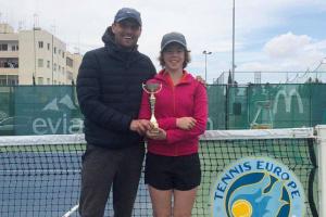 Киевлянка Чередник стала финалисткой парного турнира Tennis Europe среди юниоров