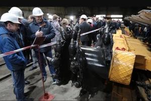 На Донетчине испытали высокопроизводительное китайское очистное оборудование
