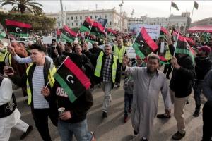 В Ливии прошли многотысячные акции против Хафтара
