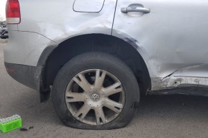 Жена депутата Мосийчука попал в ДТП, полиция открыла дело