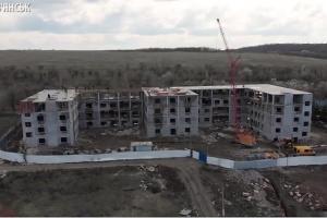 На відбудову зруйнованої обстрілами психлікарні у Слов'янську дали понад 240 мільйонів