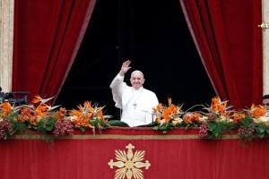 Папа Франциск упомянул об Украине в Пасхальной речи