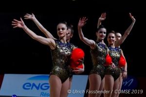 Украинские гимнастки выиграла пять медалей на этапе Кубка мира