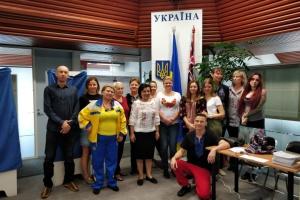 Українці Австралії першими завершили голосування