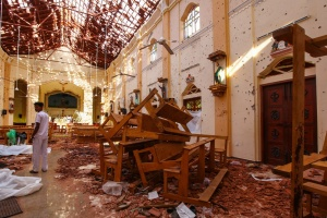Вибухи на Шрі-Ланці: вже 310 загиблих
