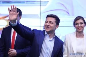 Zelensky es elegido jefe del Estado de Ucrania