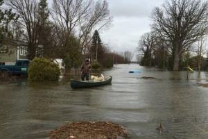 Паводок в Канаде затопил более 1000 домов
