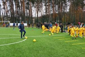 На Ривненщине за год построили 15 футбольных площадок