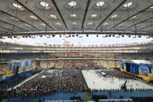"""Проведение дебатов на """"Олимпийском"""" не повлияло на состояние газона"""