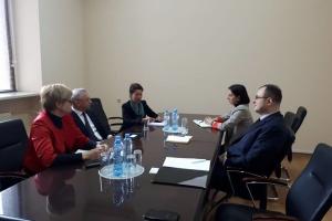 Представниця МЗС України відвідала Грузію для активізації зв'язків з діаспорою