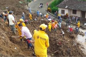 Кількість загиблих через зсув у Колумбії сягнула 28
