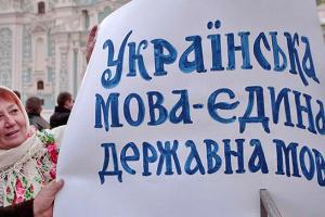 У Зеленского отмечают, что единственным государственным языком является украинский