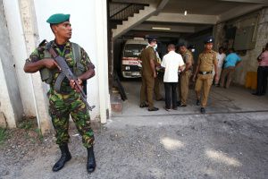 Теракт на Шрі-Ланці: поліція розшукує 140 підозрюваних у зв'язках з ІДІЛ