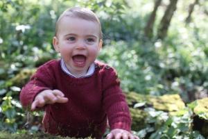 Королівська родина показала нові фото найменшого принца