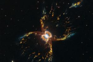 Американський телескоп зробив новий знімок Крабоподібної туманності