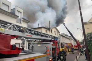 Поруч із Версалем - масштабна пожежа