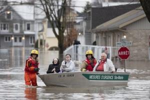 На юге Канады паводок подтопил свыше 2500 домов