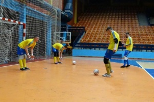 Сборная Украины U-19 по футзалу начала подготовку к турниру в Италии