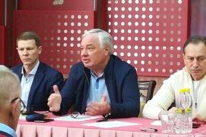 Брынзак впервые озвучил кандидатуру на пост президента Федерации биатлона Украины