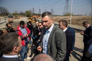 Кличко: За кілька років у Києві оновили понад 830 кілометрів доріг