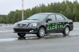 В Беларуси разработали три модели электрокаров