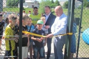 На Тернопольщине за год построили 28 футбольных площадок