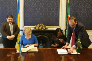 Ukraine, Commonwealth of Dominica establish diplomatic relations