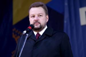 Сергей Филь, и.о. председателя Луганской ОГА - руководителя областной ВГА (укр.)