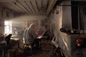 Держкіно показали завершений фільм про художника Івана Приходька