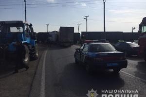 Поблизу Ізмаїла зіткнулися потяг і вантажівка