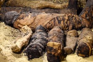 Более 30 мумий: археологи нашли в Египте скрытую гробницу
