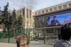 У Москві горів Інститут нафти і газу