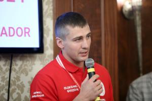 Гвоздик став першим Послом доброї волі Червоного Хреста України