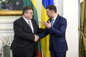Литва залишиться послідовним партнером України – Гройсман