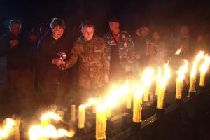 Припять: в память Чернобыльской катастрофы зажгли 33 свечи