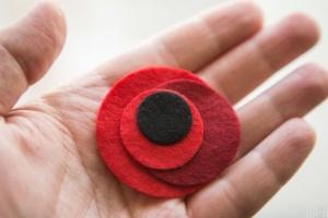 Украинцев призывают 8 и 9 мая дополнить одежду красным маком
