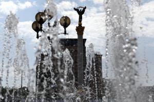 Фонтаны в Киеве будут работать до конца сентября